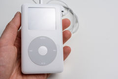 Apple iPod classic (4th Generation) Royalty Free Stock Photography