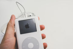 Apple iPod klassiker (den 4th utvecklingen) Arkivbilder