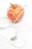 Apple ipod music abstract Stock Photography