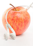 Apple ipod music abstract Stock Photos