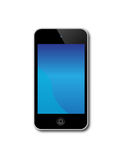 Apple Ipod Touch. An image of the latest, market leading, Apple ipod touch showing the touch screen and controls. Ideal for the storage and playing of music and vector illustration