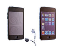 Apple ipod touch Stock Photography