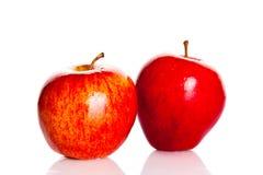 Apple a isolé sur la nutrition saine de fruits blancs de fond Photo stock