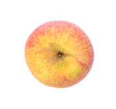 Apple isolate on white background, top view Stock Images
