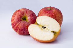 Apple. Isolated apples with a white background Stock Images