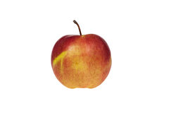 Apple on an isolated background. Fresh apple on an isolated background Royalty Free Stock Photos