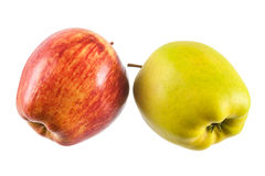 Apple isolated Royalty Free Stock Photo