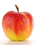 Apple isolated on white. Background Royalty Free Stock Photography