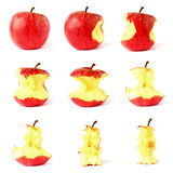 Apple isolated on white background Stock Photos