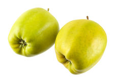 Apple isolated. On a white background Royalty Free Stock Images