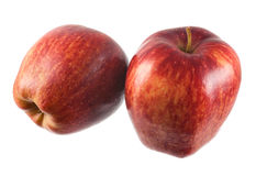 Apple isolated. On a white background Stock Photo