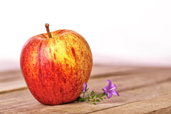 Apple isolated on white. Background Royalty Free Stock Photo