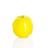 Apple isolerade på vitbakgrund Royaltyfri Fotografi