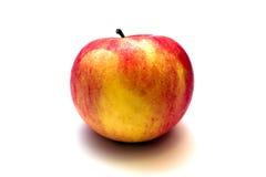 Apple isolou-se no branco Foto de Stock Royalty Free
