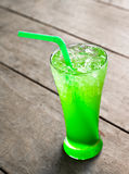 Apple italian soda Royalty Free Stock Images
