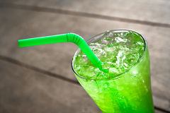 Apple italian soda Royalty Free Stock Photos