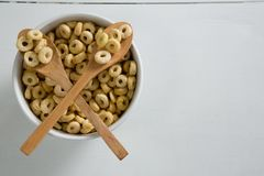 Apple jack in bowl Royalty Free Stock Images