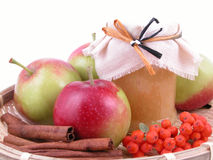 Apple jam Royalty Free Stock Photography