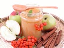 Apple jam stock image