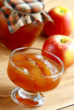 Apple jam. Royalty Free Stock Photos