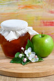 Apple jam Royalty Free Stock Photo