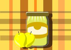 Apple jam Stock Photos