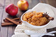 Apple jam or chutney Stock Image