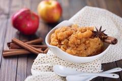 Apple jam or chutney Stock Image