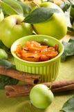 Apple jam with cinnamon Royalty Free Stock Image