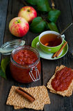 Apple jam Stock Photo