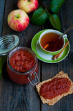 Apple jam Stock Image