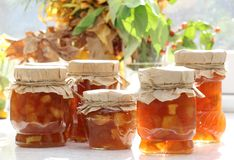Apple jam Royalty Free Stock Photography