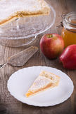 Apple jam tart. Stock Images