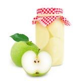 Apple jar Stock Photos