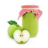 Apple jar Stock Image