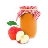 Apple jar Stock Photo