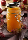Apple jelly Royalty Free Stock Photography