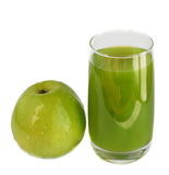 Apple and juice Stock Photography
