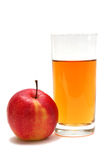 Apple juice Stock Image