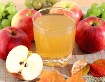 Apple juice Stock Photography
