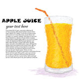 Apple juice Royalty Free Stock Photos