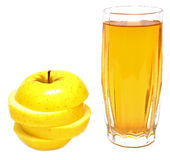 Apple Juice And Fresh Apples Stock Images