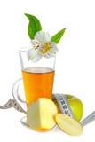Apple juice and Apple Stock Photo
