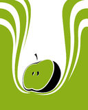 Apple juice concept Stock Image
