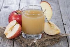 Apple Juice. Fresh Apple Juice with fruits Royalty Free Stock Photos