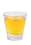 Apple juice in  glass Royalty Free Stock Images