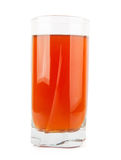 Apple juice in glass Royalty Free Stock Photos