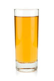 Apple juice in a glass Stock Image