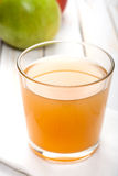 Apple juice glass Stock Photography