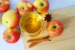 Apple Juice : Healthy drinks Stock Photos